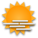 Mostly cloudy throughout the day.